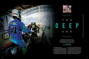We met privateer Brian Sjogren's mom by chance just before Anaheim 1 and decided to follow the 19-yearold through his first pro supercross. Page 150.