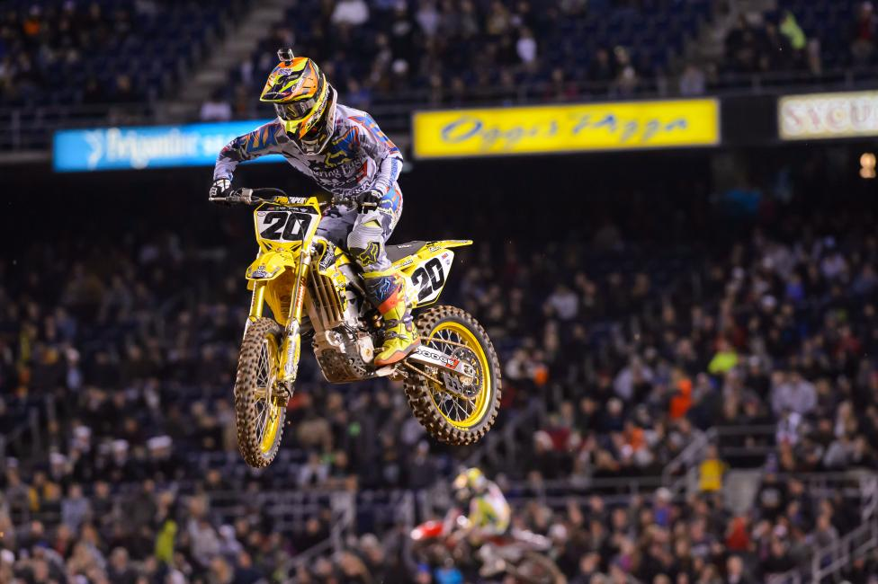 Broc Tickle had his best finish since Phoenix on Saturday. Photo: Simon Cudby