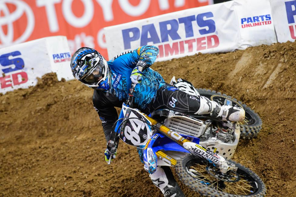 Champion is still looking to secure a ride for Lucas Oil Pro Motocross. Photo: Simon Cudby