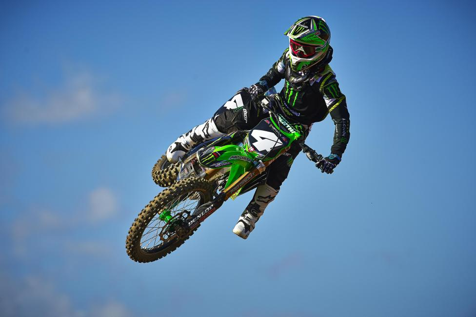 Blake Baggett is back from an off-season foot injury.  Photo: Monster Energy