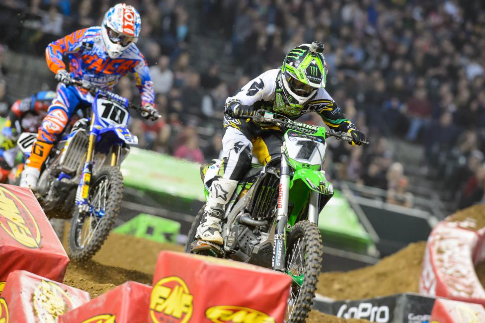 RV and Brayton battle it out in Phoenix.Photo: Simon Cudby