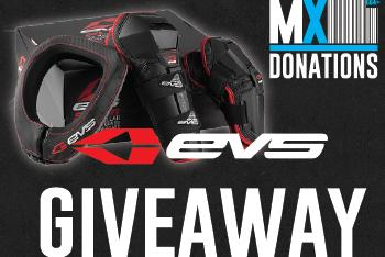 MX Donations/EVS Slam Combo Giveaway