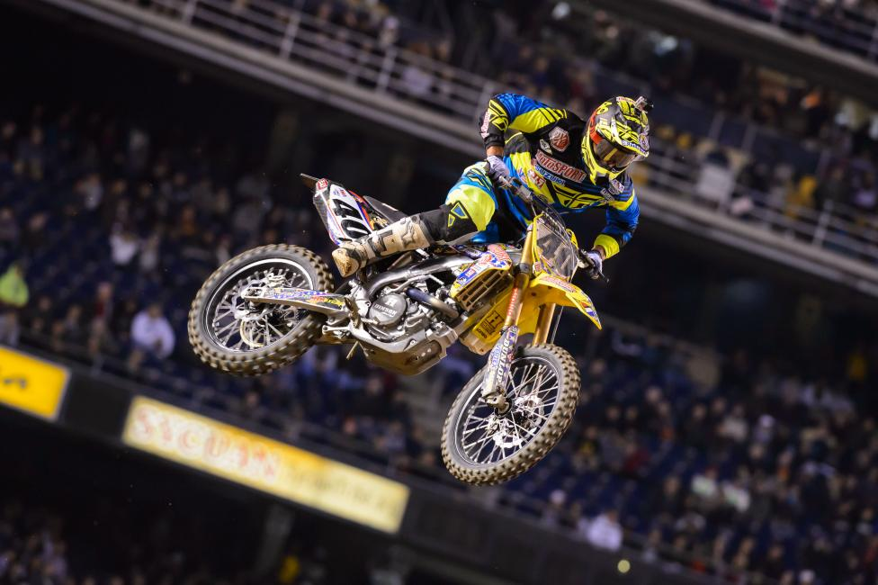 Weston Peick has been solid the last two rounds of this series and sits in ninth in the pointsPhoto: Simon Cudby