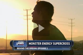 Supercross: Behind the Dream on CBS Sunday