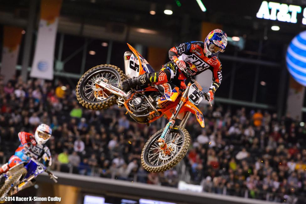 We had some fun talking about #angrydungey for a few weeks but he was his old consistent self in Dallas and took second. He also said he didn't know what #angrydunge was and wasn't ever trying to be overly aggressive--or angry--this year.Photo: Cudby
