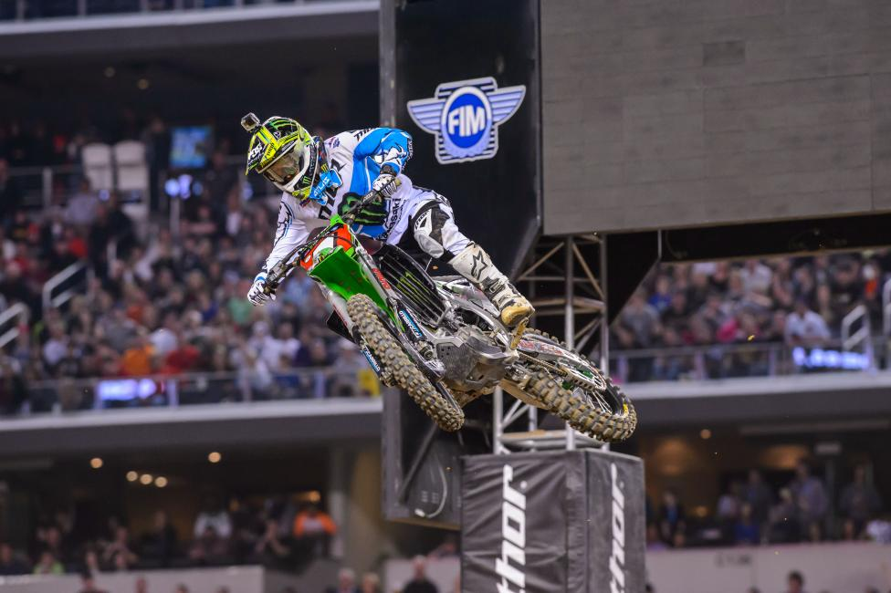 Ryan Villopoto heads to the ATL with the points lead.  Photo: Simon Cudby