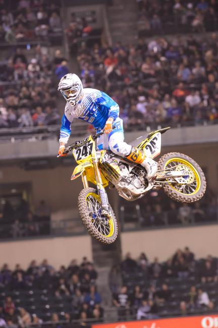 Parks will try and make back-to-back mains for the first time in his 450 career in Atlanta. Photo: Simon Cudby