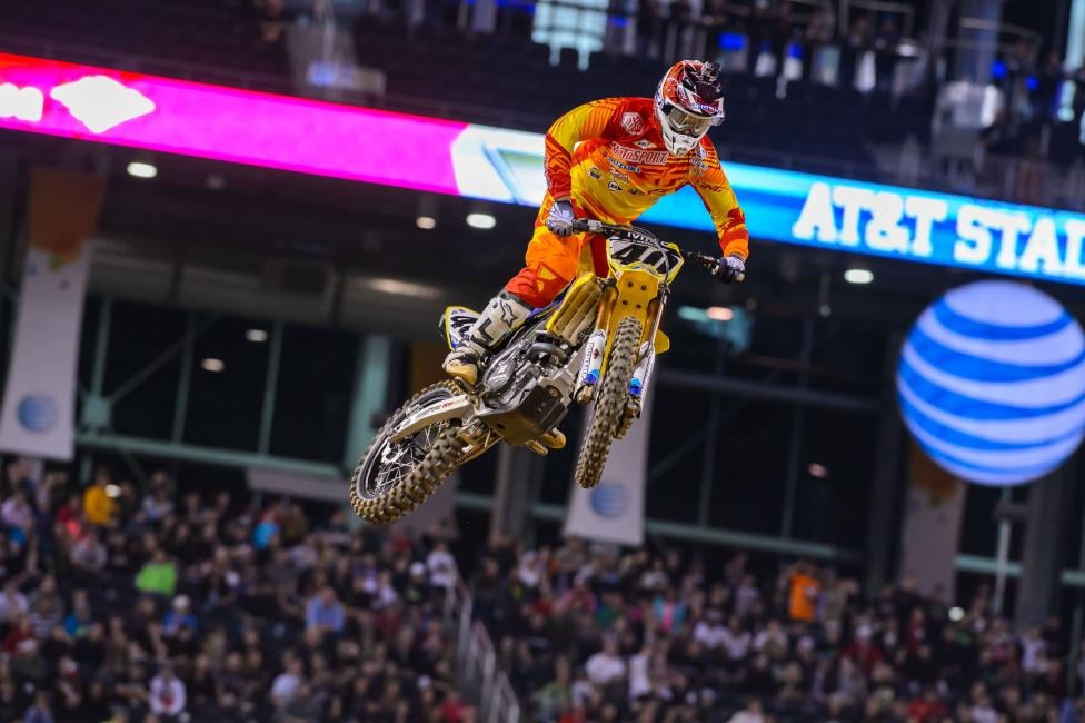 Will Peick found a way back to the top five this weekend?