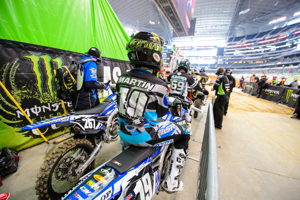 After missing the main in Dallas, Jeremy Martin looks to rebound in Atlanta.