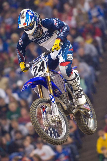 Summey was one of the first members of JGR Yamaha. Photo: Andrew Fredrickson