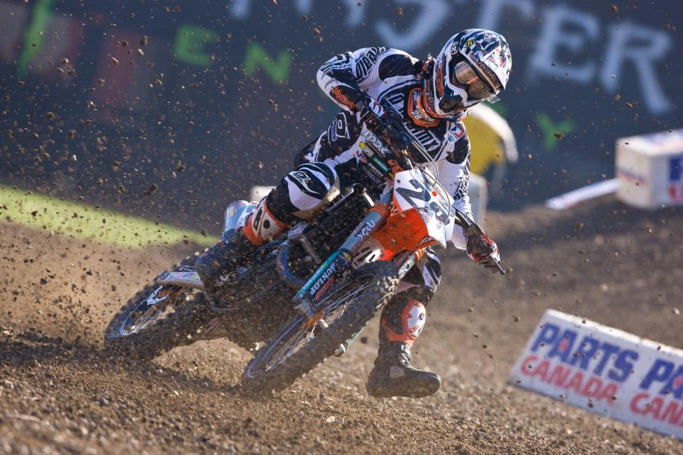 Summey spent his last season of racing with Jägermeister MDK KTM. Photo: Simon Cudby