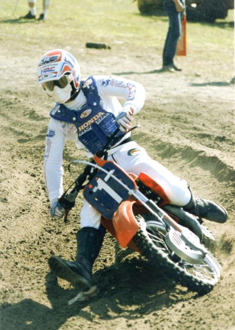 One of the most influential men in the history of motocross, David Bailey.