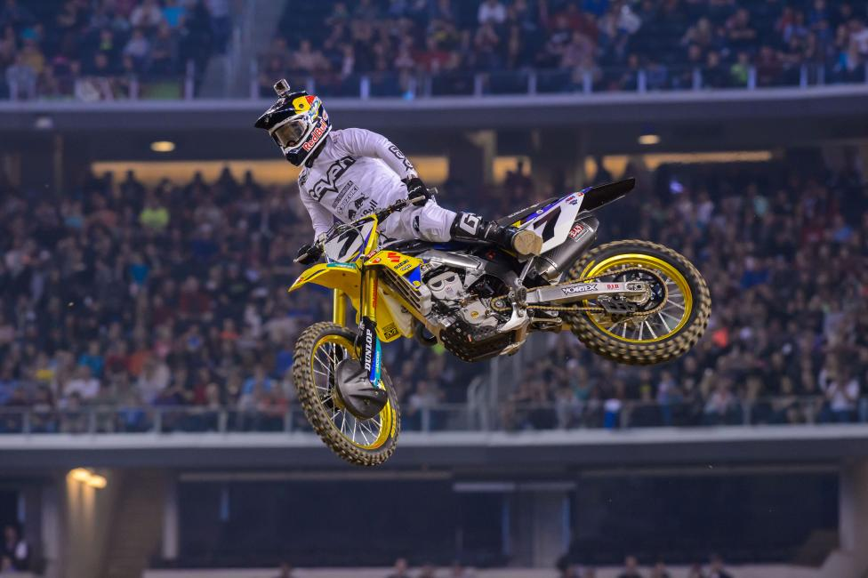 James Stewart trails the GOAT by one win on the all-time SX win list.