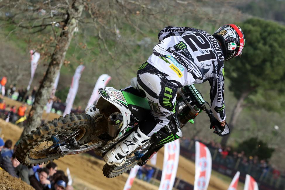 Gautier Paulin won in Italy after the race in France was canceled. His next start will be the Grand Prix of Qatar next weekend.Photo: Haudiquert