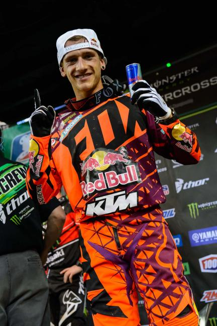 Roczen took home his second-career 450SX win.