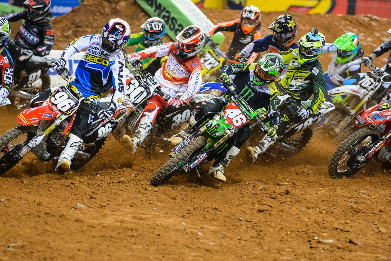 Sign of the (Lap)  Times: Atlanta SX
