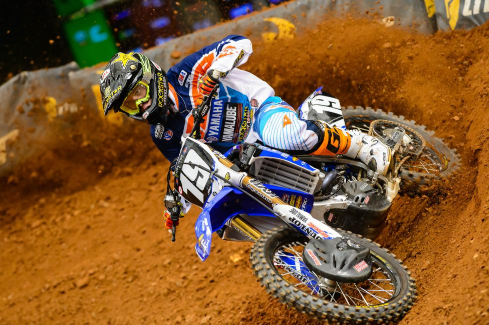 Jeremy Martin's struggles continued in Atlanta.  Photo: Simon Cudby