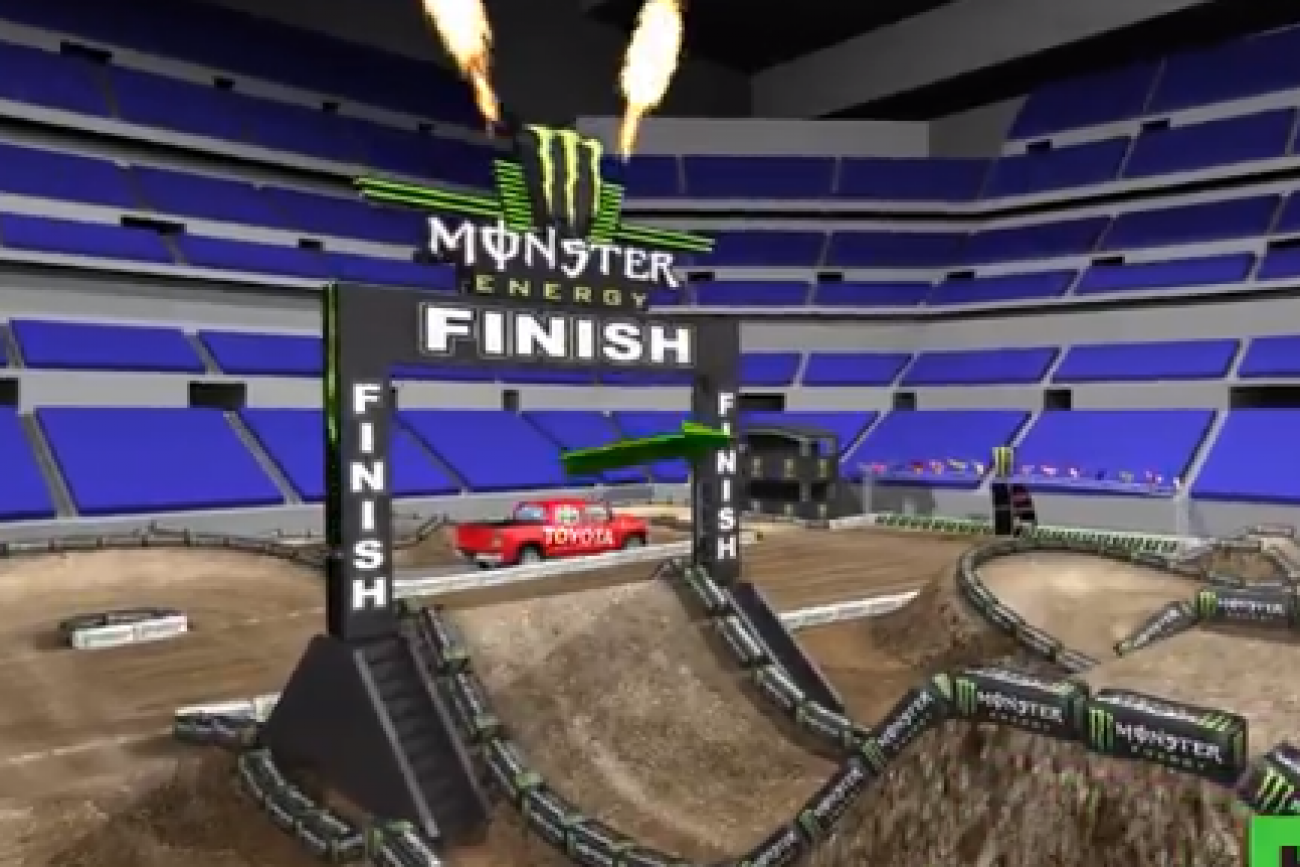 Animated Track Map: Indy SX