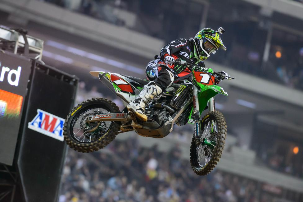 Ryan Villopoto still controls his own destiny through eight rounds in the series. Photo: Simon Cudby