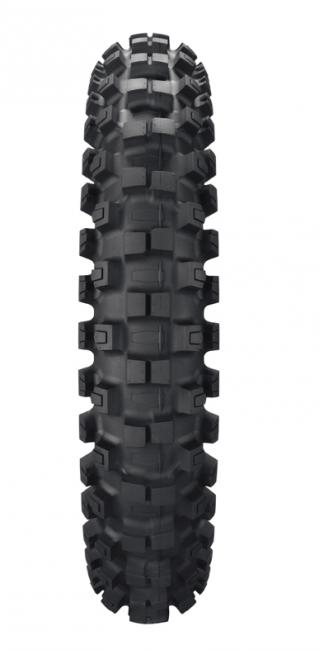 The MX52, for intermediate-to-harder terrain. Photo: Dunlop