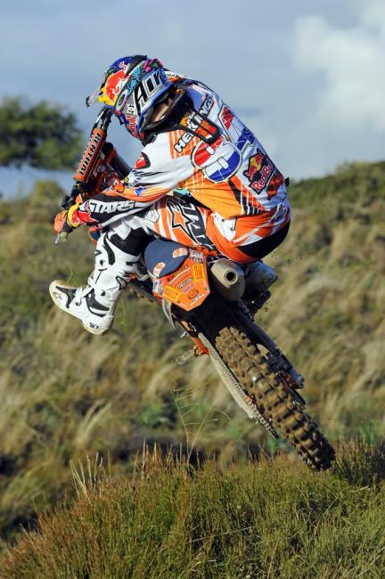 The buzz on Herlings is not about winning the title, but potentially winning every moto.Photo: Taglioni S./KTM Images