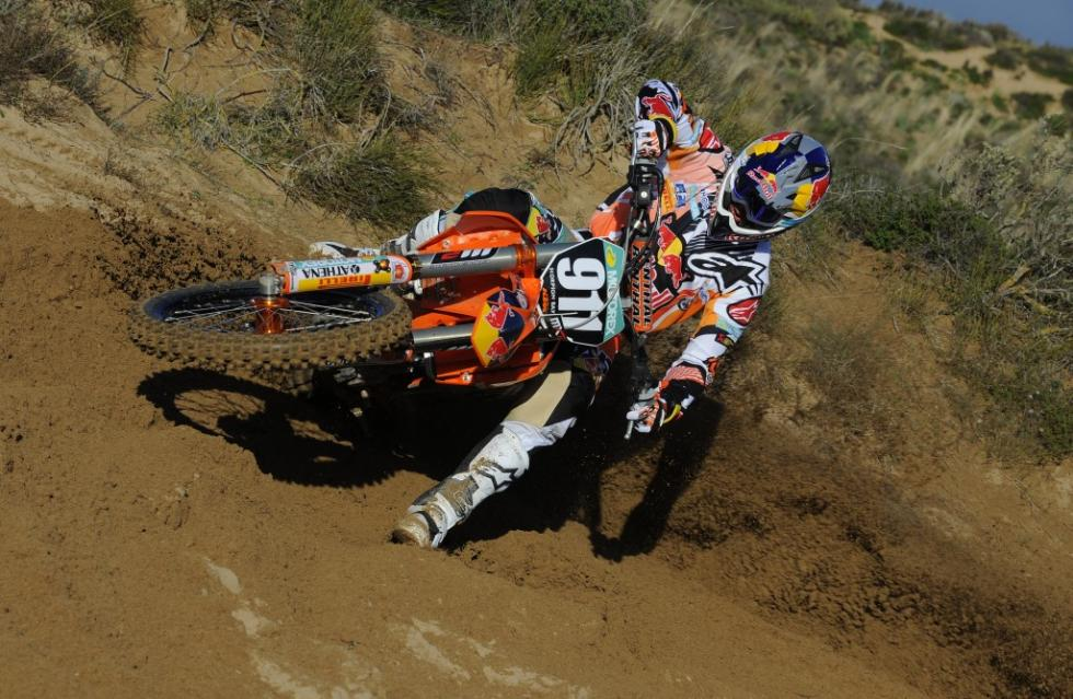 Tixier finished second in last year's MX2 rankings.Photo: Taglioni S./KTM Images