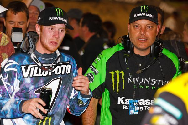 Mike Fisher was team manager at Monster Energy Kawasaki. Photo: Simon Cudby