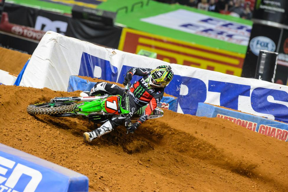 Ryan Villopoto is seeking his fourth straight title. Photo: Simon Cudby