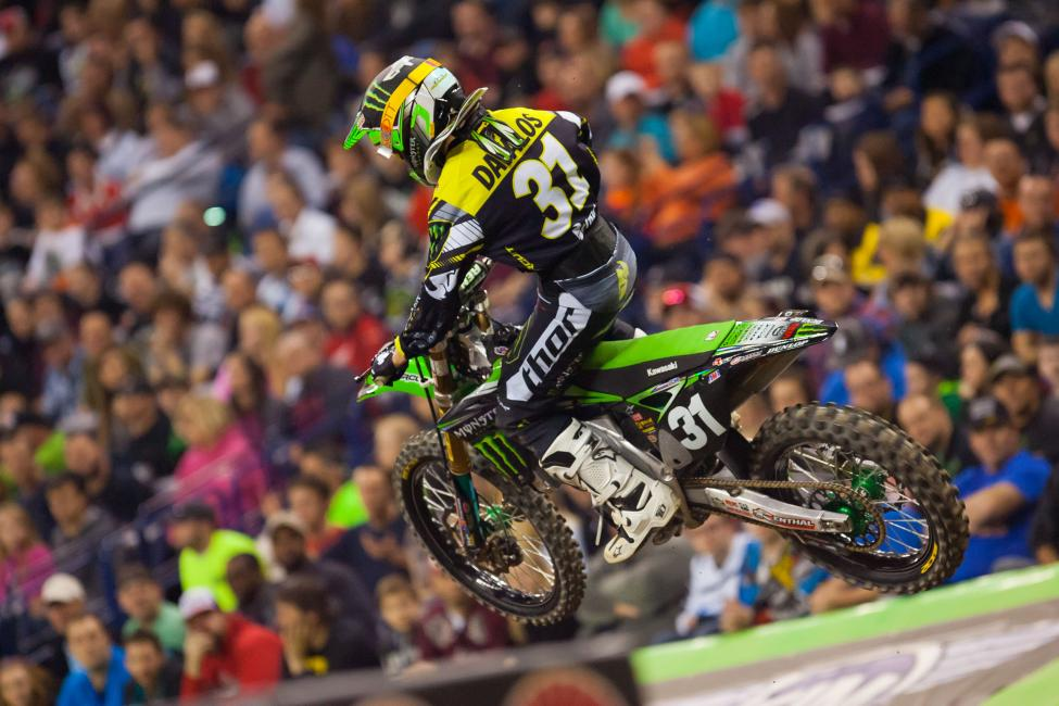 Davalos would quickly shoot into the lead, with Cianciarulo tow. Davalos opened up a quick gap, but a costly mistake in a deep rut—than went down to the plywood—left Martin scrambling to regain the lead.