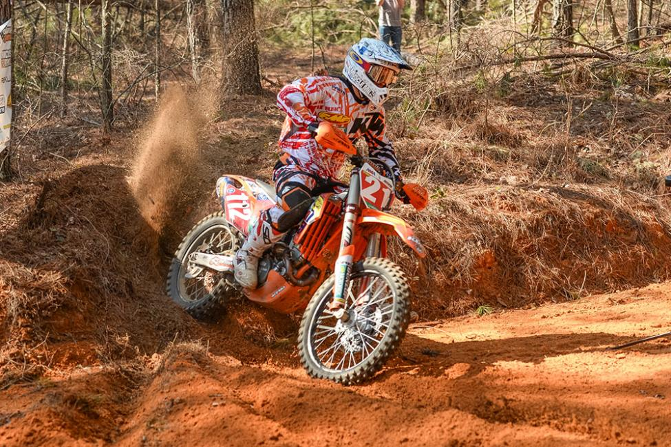 Charlie Mullins won in the AMA Rekluse National Enduro Series.