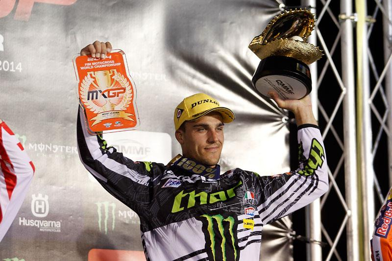 Gautier Paulin took home the win in MXGP. Photo: Pascal Haudiquert