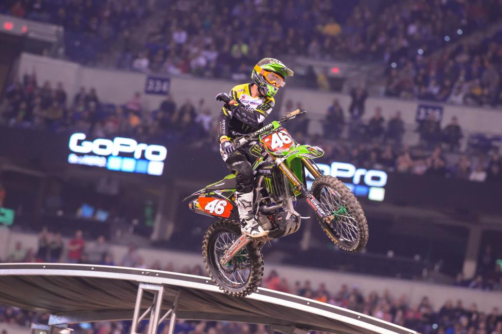 Cianciarulo has a five point lead over Martin Davalos. Photo: Simon Cudby