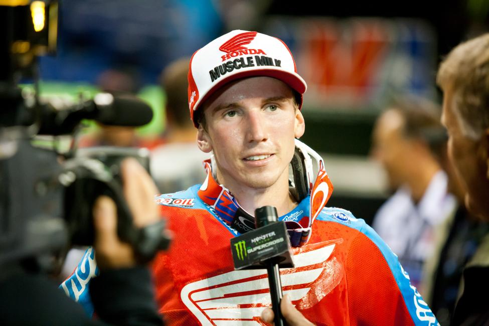 Seely and Honda Muscle Milk will take it race by race to see how long he will be filling in.  Photo: Andrew Fredrickson
