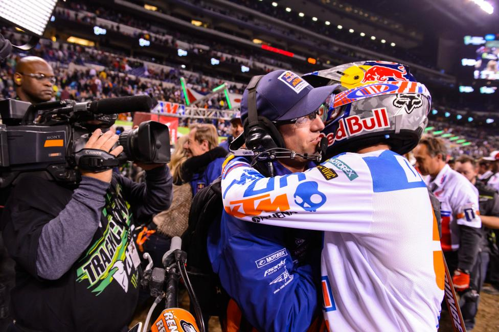 Ryan Dungey limited mistakes en route to his first win of the season.