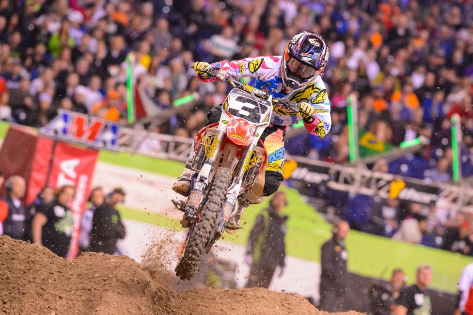 Tomac said his shoulder is improving, as are his results.