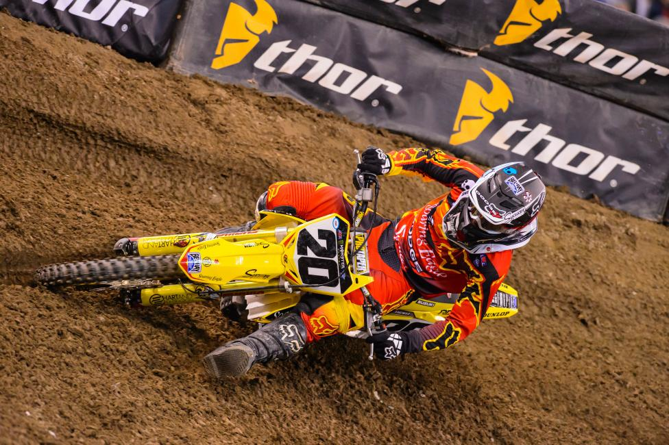 Career night in Indy for Broc Tickle. Photo: Simon Cudby