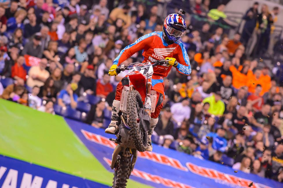 How good will Seely (above) and Wilson be in 450SX going forward? Photo: Simon Cudby