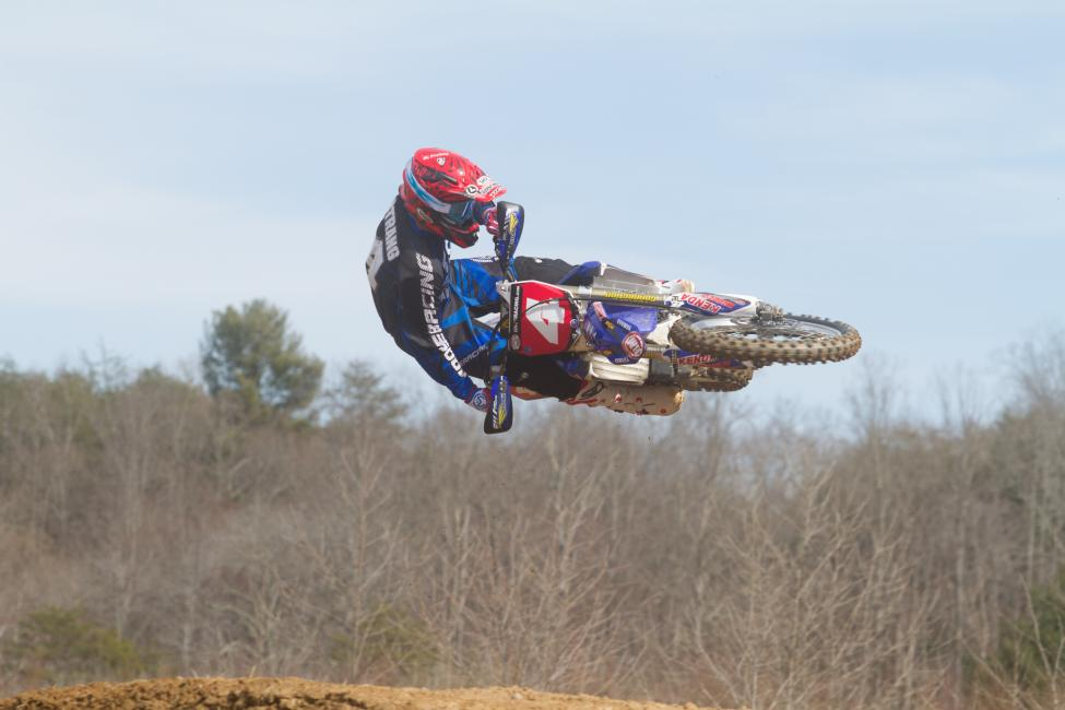 After an up and down season last year, Josh Strang looks very comfortable on his new Yamaha.Photo: Jason Hooper