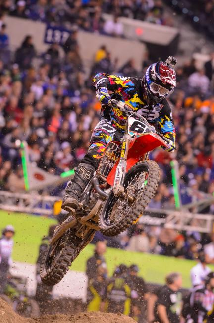 Following a 15th in Atlanta, Blose had a season high 14th in Indy. Photo: Simon Cudby