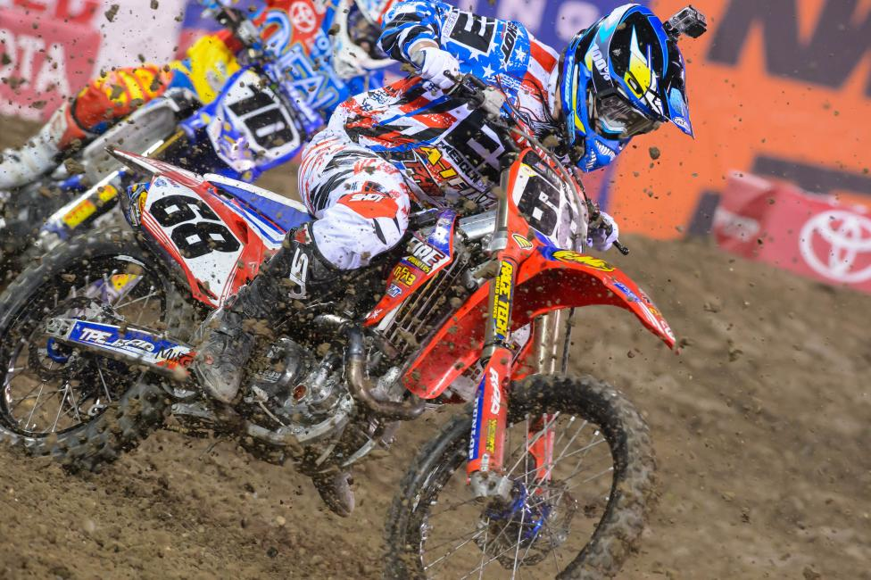Blose began the year riding a 2012 Honda.