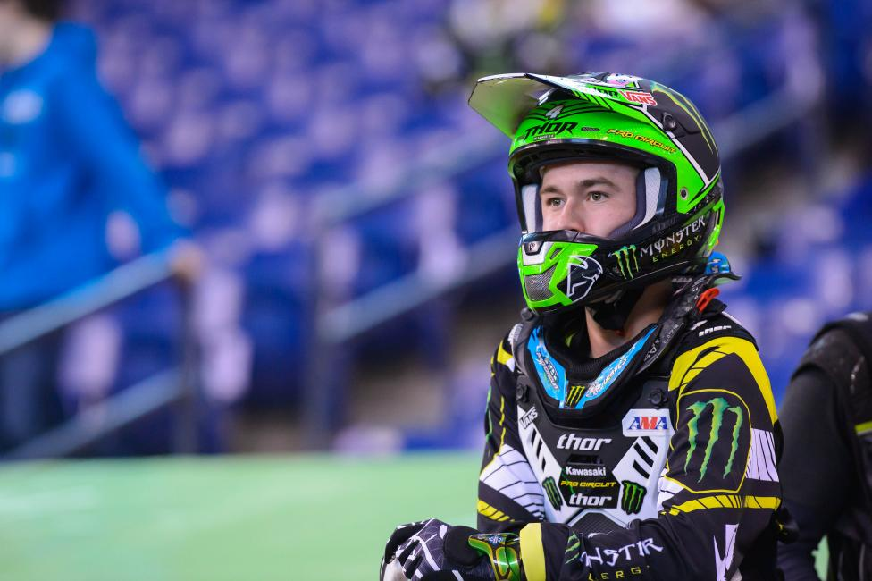 Will past success at Daytona translate to a win for Blake Baggett Saturday.Photo: Simon Cudby