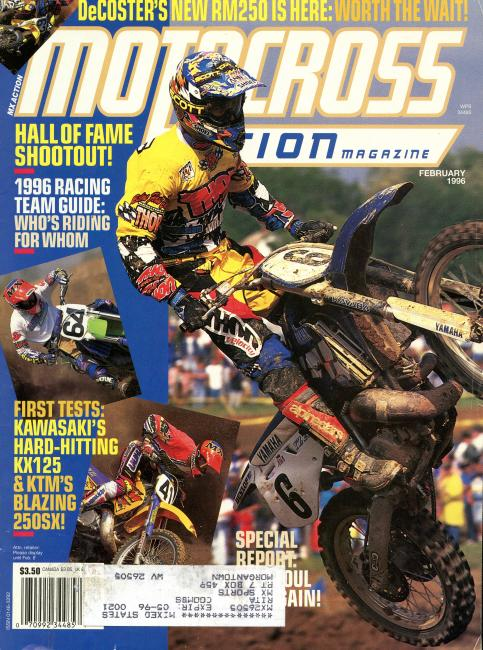 Motocross Action / USA / February 1996
