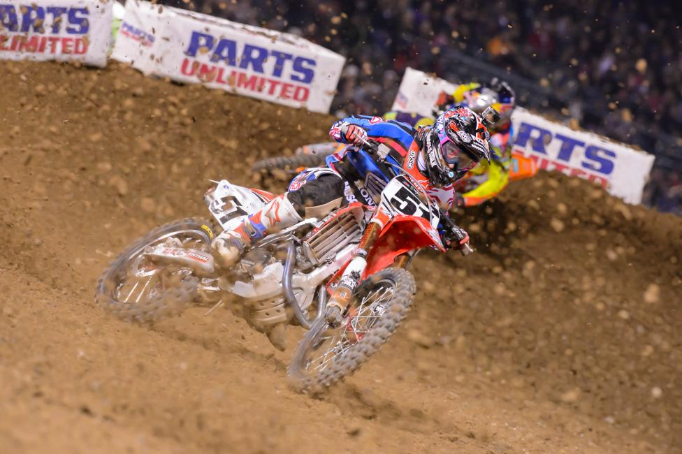 Justin Barcia will return for his knee injury this weekend.