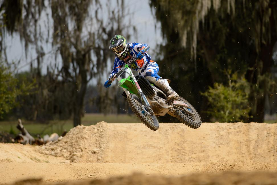 A new section was added to Villopoto's track.