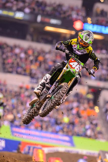Adam Cianciarulo now has two wins in his first three SX races as a pro.