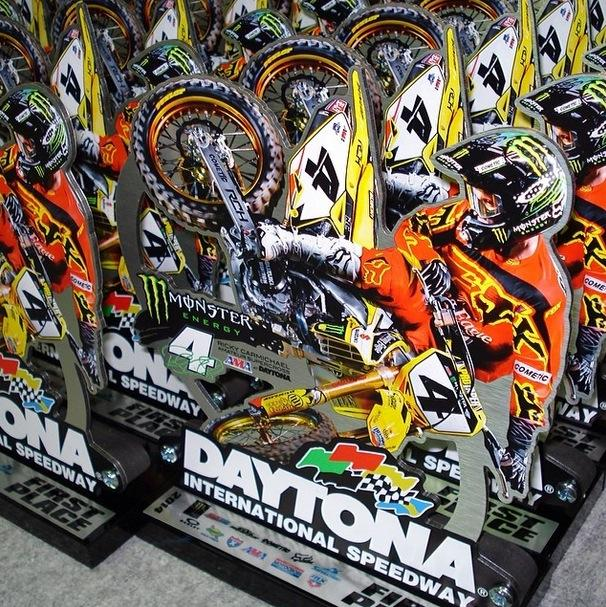 Here's a glimpse at what the amateurs will be getting for their wins at RCSX.Photo: Tim Cotter