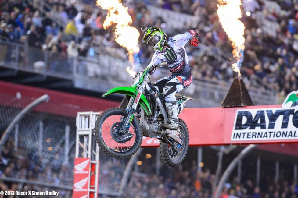 "RC sees Ryan Villopoto as one of the ""Daytona Tough"" guys.Photo: Simon Cudby"