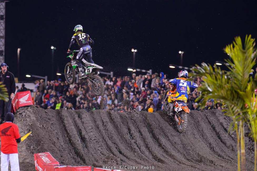 Daytona was gnarly! Photo: Simon Cudby