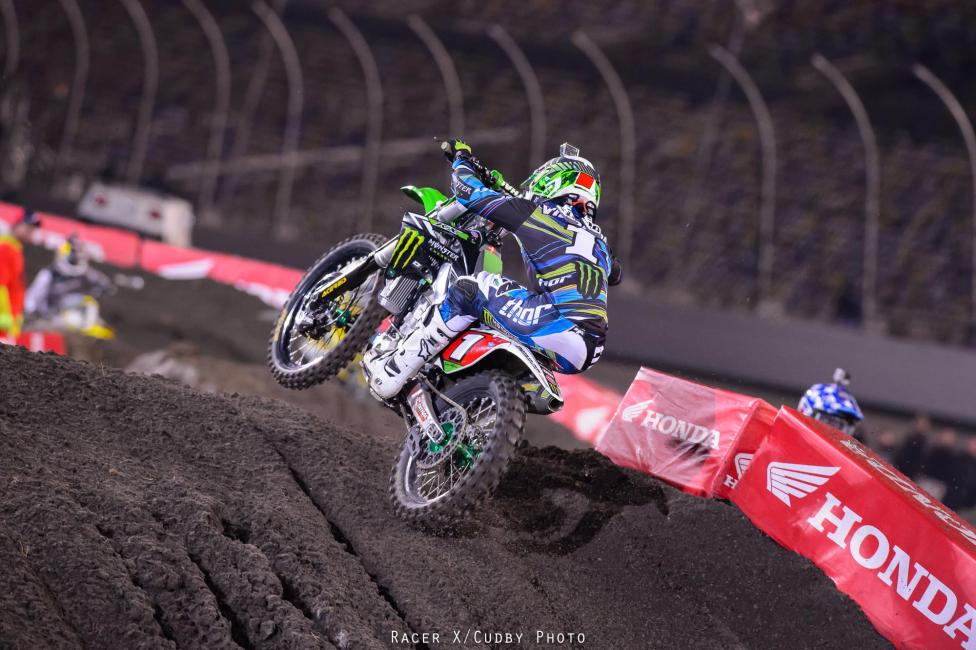It was all Ryan Villopoto on Saturday in Daytona.  Photo: Simon Cudby