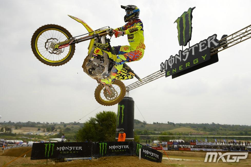Clement Desalle was back in form in Thailand. Photo: MXGP